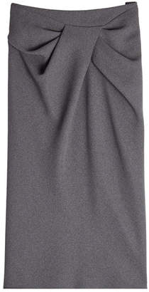 Paule Ka Skirt with Draped Front