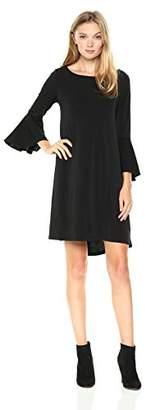 Jones New York Women's Bell SLV High Low Hem Easy Trapeze Dress,L