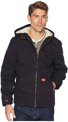 Dickies Sanded Duck Sherpa Lined Hooded Jacket