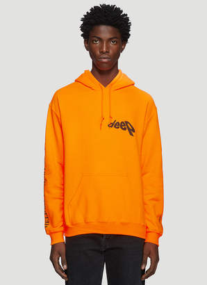 Darkoveli Deep Hooded Sweatshirt in Orange