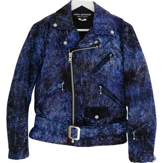 Junya Watanabe Blue Velvet Jackets