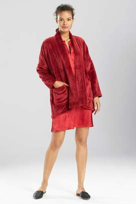 Natori N Cashmere Fleece Topper