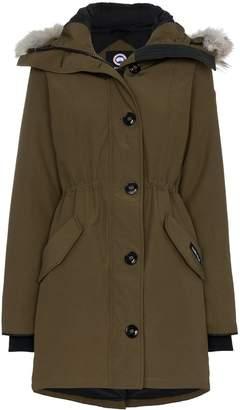 Canada Goose Arctic Rossclair fur trim parka jacket