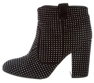 Laurence Dacade Studded Ankle Boots $295 thestylecure.com