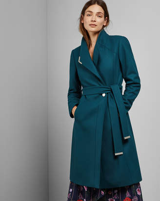 Ted Baker ELLGENC Long belted wrap coat