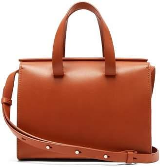 Aesther Ekme - Mini Barrel Leather Cross Body Bag - Womens - Tan