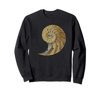 Fossil Shell Fibonacci In Nature T shirt - Meditation Spiral