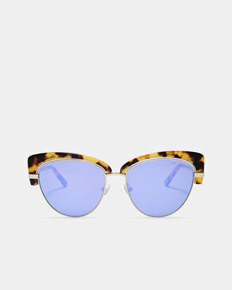 Ted Baker CATTIEE Tortoiseshell cat eye sunglasses