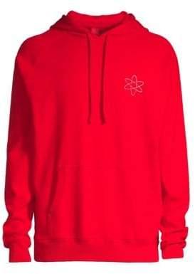 HUGO Darti Hooded Reverse Logo Sweatshirt