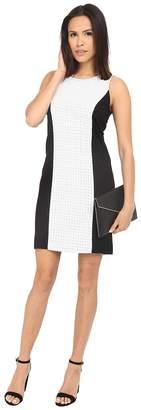 Kensie Ponte Fitted Dress KS3K7410 Women's Dress