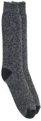 Muk Luks Men Heat Retainer Socks
