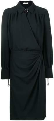 Altuzarra wrap style shirt dress