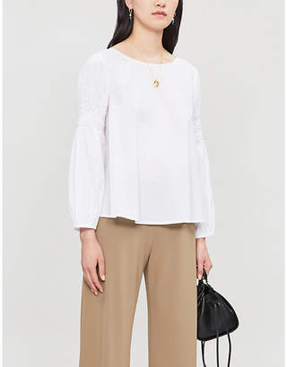 Merlette New York Miombo relaxed-fit cotton blouse