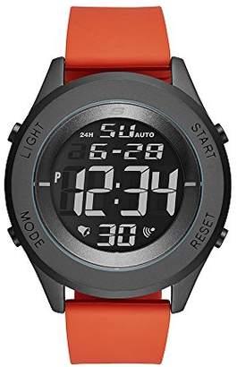 Skechers Men's Wiseburn Digital Metal and Silicone Chronograph Watch