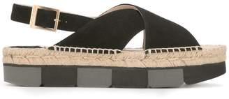 Paloma Barceló sling-back platform sandals