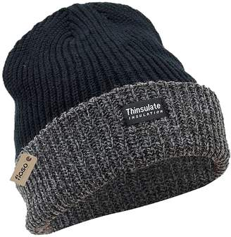 cc8b260d56f Floso® Unisex Mens Womens Heavy Knit Winter Ski Thermal Hat (3M 40g
