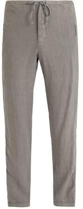 J.w.brine J.W. BRINE Drawstring-waist linen trousers