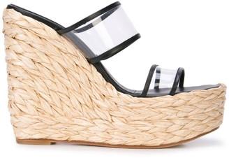 Ritch Erani NYFC Tulum wedge sandals