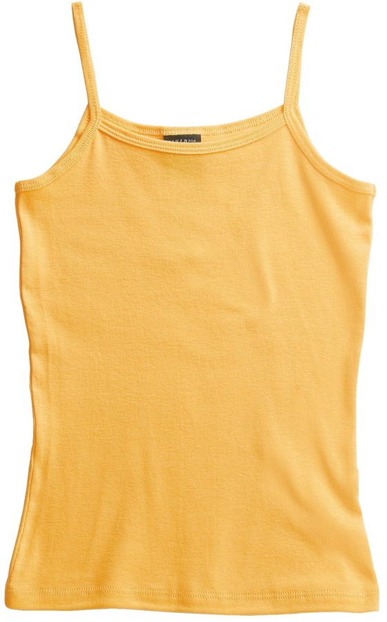 Hanes Cotton Knit Tank Top - Spaghetti Straps (For Women)
