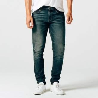 DSTLD Skinny-Slim Jeans in Dark Worn Wash
