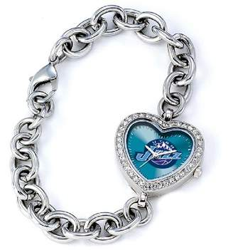 Game Time Women's 'Heart Quartz Stainless Steel Casual Watch(Model: NBA-HEA-UTA)