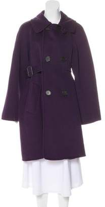Jean Paul Gaultier Wool & Angora Coat
