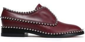 Alexander Wang Wendie Studded Leather Brogues