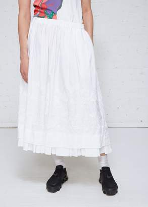 Comme des Garcons Embroidered Skirt