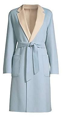 Max Mara Women's Didy Doppio Reversible Top Coat