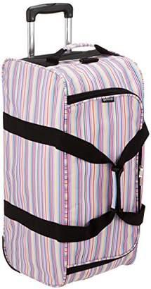 Outdoor Products (アウトドア プロダクツ) - [アウトドアプロダクツ] スーツケース等 ボストンキャリー 62L 3WAY ショルダーベルト付 62L 32cm 2.8kg 62411-99 PK マルチストライプ