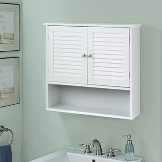URBAN RESEARCH Apontus Double Shelves Bathroom Wall Storage Cabinet
