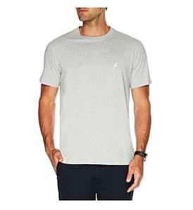 Nautica Short Sleeve Solid Logo Tee
