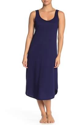 Natori N Scoop Neck Sleeveless Nightgown
