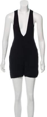Chanel Silk Rib Knit Romper