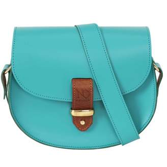 N'Damus London - Victoria Aquamarine Cross Body Bag