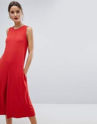 French Connection Sleeveless A-Line Culotte Jumpsuit