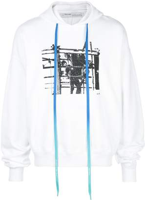 Off-White Scaffolding graphic print hoodie