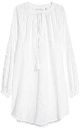 H&M Cotton Tunic - White