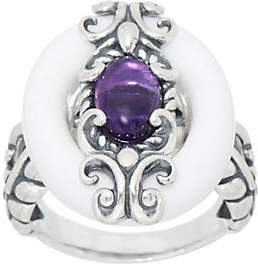 Carolyn Pollack Color Connections SterlingGemstone Ring
