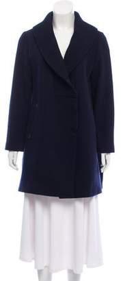 Les Prairies de Paris Wool-Blend Coat