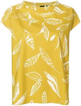 Aspesi leaf print T-shirt