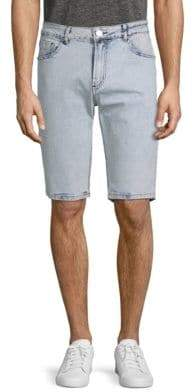 X-RAY Jeans Washed Denim Shorts