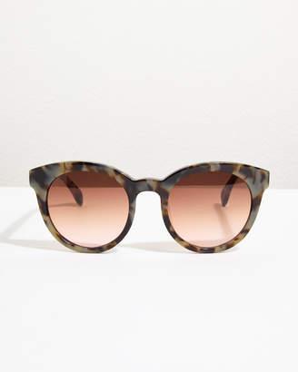 Jigsaw Naomi Chunky Round Frame Sunglasses