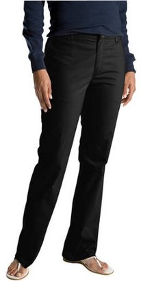 Dickies Women's Slim Fit Straight Leg Bootcut Stretch Twill Pants