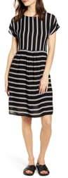 Noisy May Melissa Stripe A-Line Dress