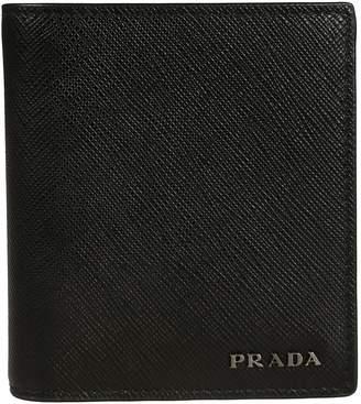 Prada Logo Plaque Cardholder