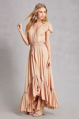 FOREVER 21+ Boho Me Button-Front Maxi Dress $58 thestylecure.com