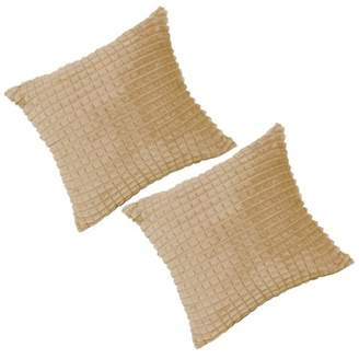 "Piccocasa PiccoCasa 2Pcs Decorative Throw Pillow Covers Sofa Cushion Cover, 24""x 24"""