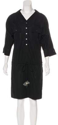 Louis Vuitton Short Sleeve Knee-Length Dress w/ Tags