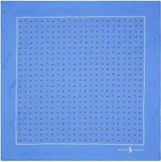 Polo Ralph Lauren Bandana Print Pocket Square
